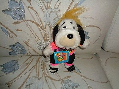 Vintage Droopy Ace Plush Doll Figure Dog Chump Champ Droopy Face Happy Hound