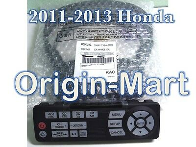 2011- 2014 Honda Odyssey EX-L Touring DVD Entertainment Remote Control/Headphone