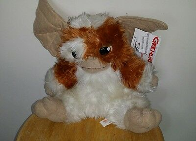"Gremlins Large 10"" inch  Soft Plush Gizmo with tags lovely"