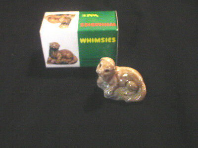 Mint In Box Wade Whimsies #12 Otter 1972. From Retail Series.