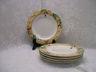 """FREE SHIP~ Set of 5 EDENFIELD 6-3/8"""" Bread Plates Royal Doulton Expressions"""