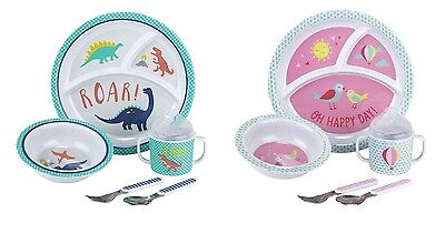 Carter's 5 piece dinnerware set