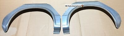 VW Golf MK1 Left & Right Rear Wheel Arch Sidewall Outer Section Repair Panels