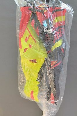 ANSWER RACING ALPHA AIR MOTOCROSS MOTO PANTS RED/ACID or GRAY/WHITE PICK SIZE!