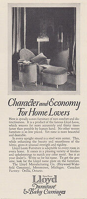 1926 Lloyd Furniture: Character and Economy (26457) Print Ad