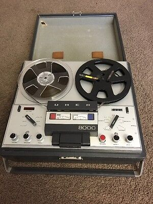 Vintage Uher 8000 Reel to Reel Tape Record For Part.