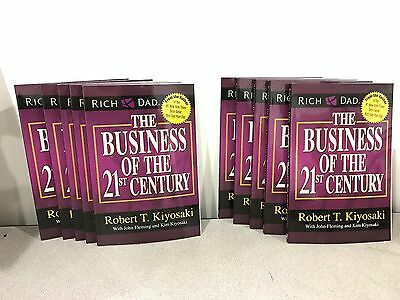 10 Pack The Business of the 21st Century Paperback Rich Dad Robert T. Kiyosaki