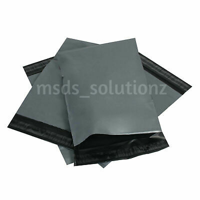 """500 Strong Grey 6.5""""X9"""" Self Seal Mailing Bags Postal Packaging Postage Mailers"""
