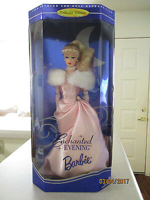 1960 Fashion And Doll Reproduction Collector Blonde Enchanted Evening Barbie