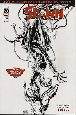Spawn 219 Phoenix Comicon Sketch Variant only 500 Made