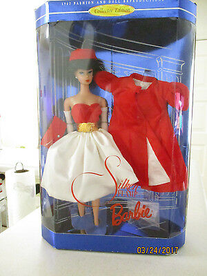 1962 Fashion And Doll Reproduction Collectors Edition Silken Flame Barbie