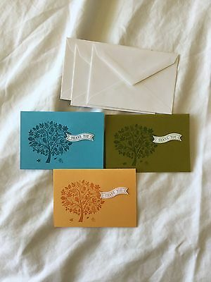 Handmade Masculine Set Of 5 Blank Notecards With Envelopes 3 00