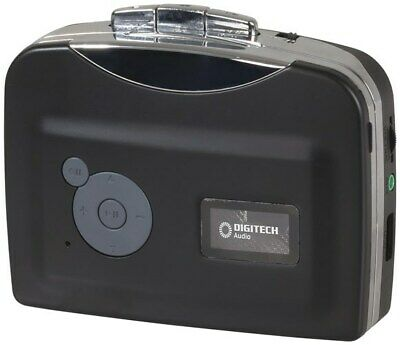 Digitech Cassette to MP3 converter Battery Powered with USB Cable and Earphones