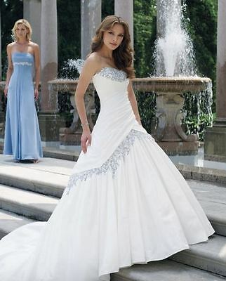 Taffeta Wedding Gown with Corset Sophia Tolli Y1900  (Marked down from $2449.00)