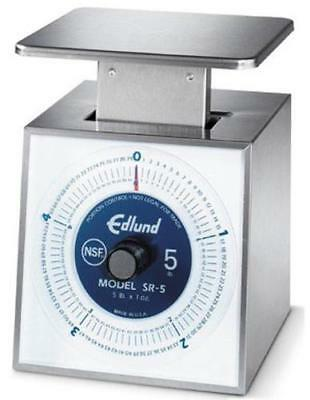Edlund SR-5 5lbs x 1oz. Portion Scale with Rotating Dial NSF