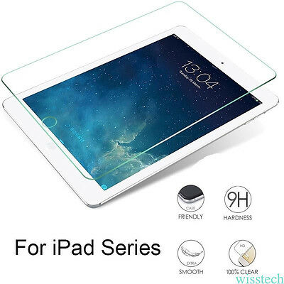 For Apple iPad 12.9/iPad mini 2 3 4/iPad Air 1/2 Tempered Glass Screen Protector