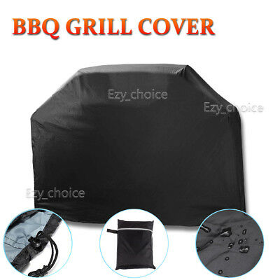 BBQ Grill Cover 4 Burner Outdoor UV Waterproof Gas Charcoal Barbecue Protector