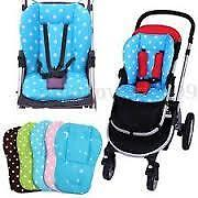 Baby Infant Thick Pushchair Mat Dot Liner Cover Stroller Buggy Pram Seat Cushion