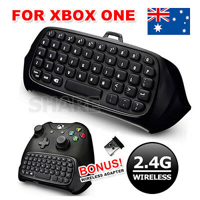 Wireless Chatpad Message Keyboard KeyPad 2.4G Receiver For Xbox One Controller