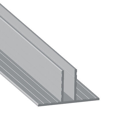 """2 Metres Hat-Shaped Divider Extrusion, Board Thickness: 7mm / 1/4"""" by Penn Elcom"""