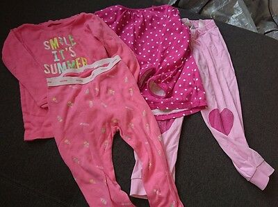girls pyjamas 18-24 months