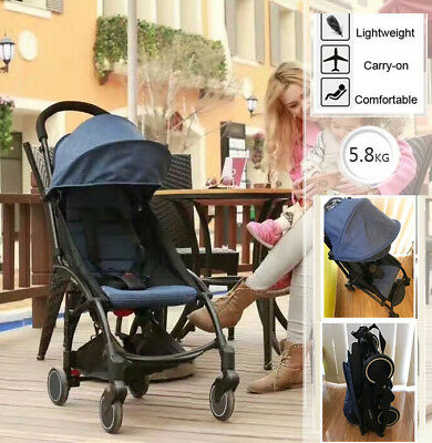 2018 Compact Lightweight Baby Stroller Travel Pram Easy Fold Carry-on Yoyo 5.8kg