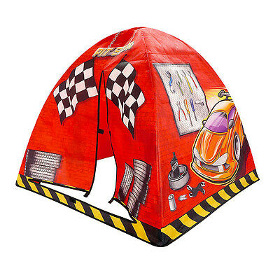 Portable Play House Red Children Toddler Boy Outdoor Folding Pop Up Kids Tent