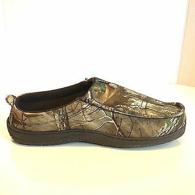 28e05acc7ebef1 Realtree Camouflage Clogs Slippers Brown Rubber Grip Size L Men's Size 9 or  10