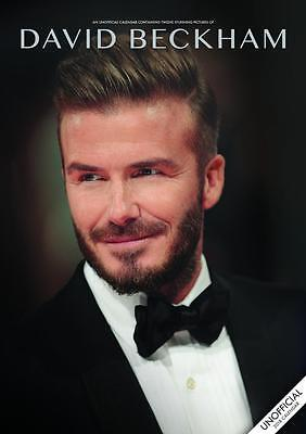 David Beckham 2018 Calendar Large A3 Uk Wall By Red Star + Free Uk Postage !!