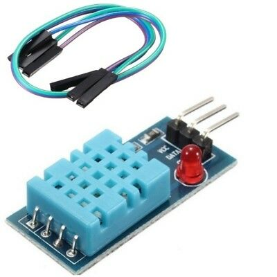 DHT11 Module Digital Humidity & Temperature Sensor Arduino FREE CABLE Pi UK a406