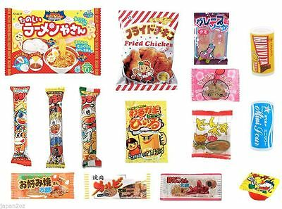 15 PIECE JAPANESE CANDY SET Kracie Popin Cookin DIY Candy Ramune Chips Gum-3