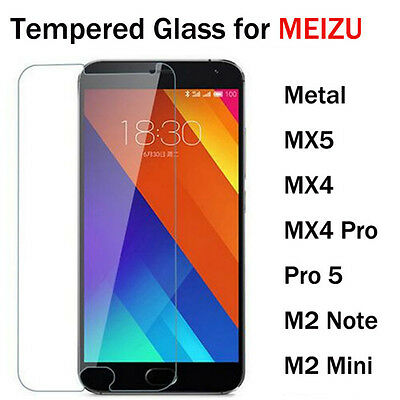 Tempered Glass Screen Protector Protective Film For Meizu MX 4 MX 5 MX 6 Pro 5