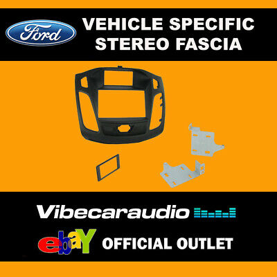 Ford Focus 2011 Onwards Stereo Double Din Fascia Trim Panel Fitting Kit CT23FD28
