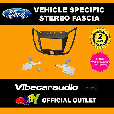 Ford C-Max 2010 Onwards Stereo Double Din Fascia Trim Panel Fitting Kit CT23FD30