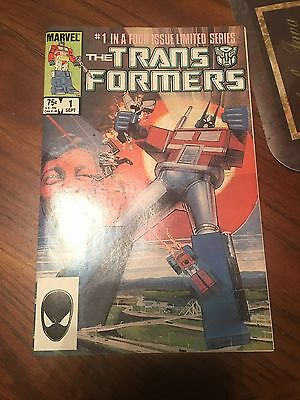 Transformers #1 9.6 1st Transformers Appearance (Sept 1984)