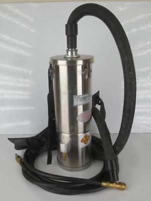 AIR TIGER SSAT-6L (BP) SK HEPA AIR OPERATED VACUUM w HOSE & HARNESS|010-906891-W