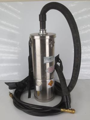 Air Tiger Ssat-6L (Bp) Sk Hepa Air Operated Vacuum W/ Hose And Harness |010-9068