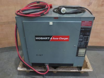 HOBART CELL BATTERY CHARGER:  Accu-Charger 600C3-12 3 PHASE 24 V 12  010-1143438