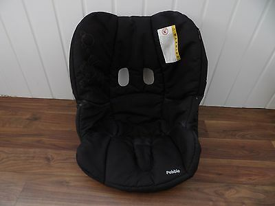 Genuine Maxi Cosi Pebble Replacement Spare Cover In Black For car seat