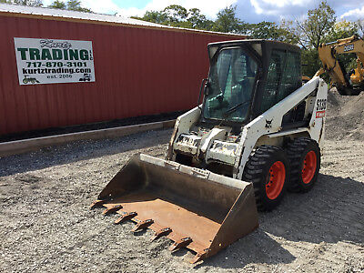 2010 Bobcat S130 Skid Steer Loader w/ Cab!