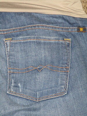 Womens  Lucky Brand  Maternity Jeans Size 6 28 Baby Boot