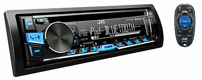 JVC Refurbished KD-R860BT Single DIN Bluetooth In-Dash CD/AM/FM w/ Pandora