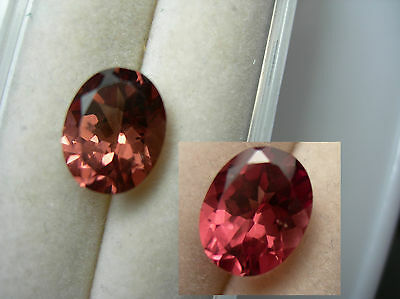 rare Imperial Malaya Garnet Pink gem Umba Valley Tanzania Color Change Shift 3.2
