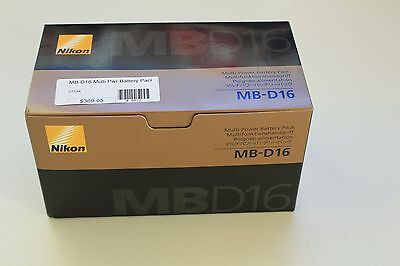 Brand NEW Nikon MB-D16 Multi Power Battery Pack Grip, D750 (US Model) NIB
