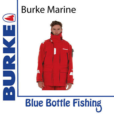 NEW Burke Southerly Offshore Breathable Jacket PB20 from Blue Bottle Fishing