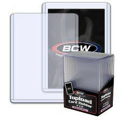 BCW THICK CARD TOPLOAD HOLDER - 197 PT. 5MM 3x4 10 CT. PACK