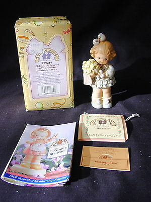 Memories of Yesterday ~ THINKING OF YOU ~ Girl with Yellow Roses ~ #179213 ~ NIB
