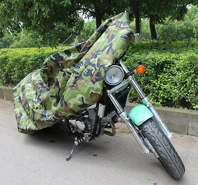 XXXL Universal Motorcycle Cover For Harley Davidson Road King Classic EFI FLHRCI