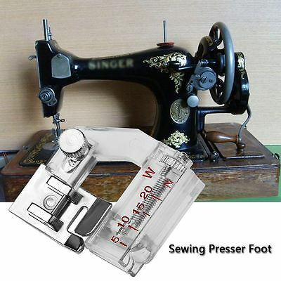 Adjustable Bias Binder Presser Foot Feet Binding Feet Sewing Machine Attachments