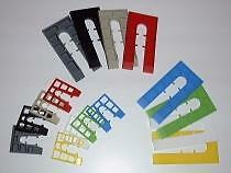 Plastic Window And Door Packers Kitchen Frames 100mm x 50mm pack of 100 shims